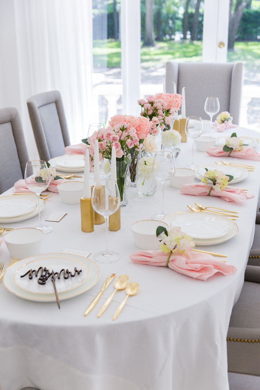 i was so excited when bed bath beyond asked me to partner with them by throwing a gorgeous bridal shower party using their new