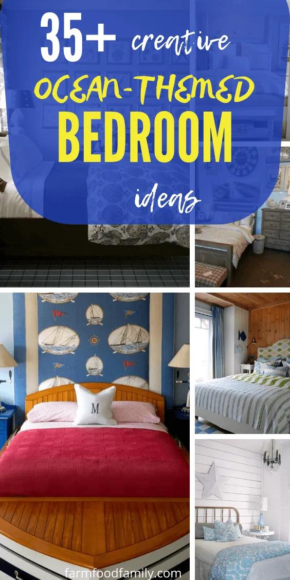 35 Best Beach Themed Bedroom Decor Ideas Designs For 2021 Beach Theme Bedroom Decor Beach Themed Bedroom Bedroom Themes