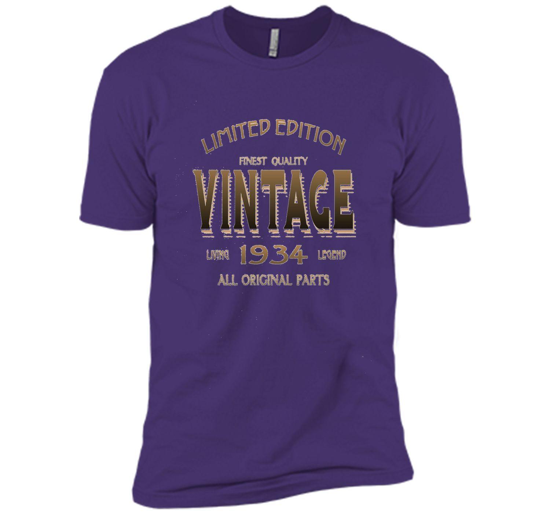 1934 T Shirt 83rd Birthday Gift 83 Year Old B Day Present