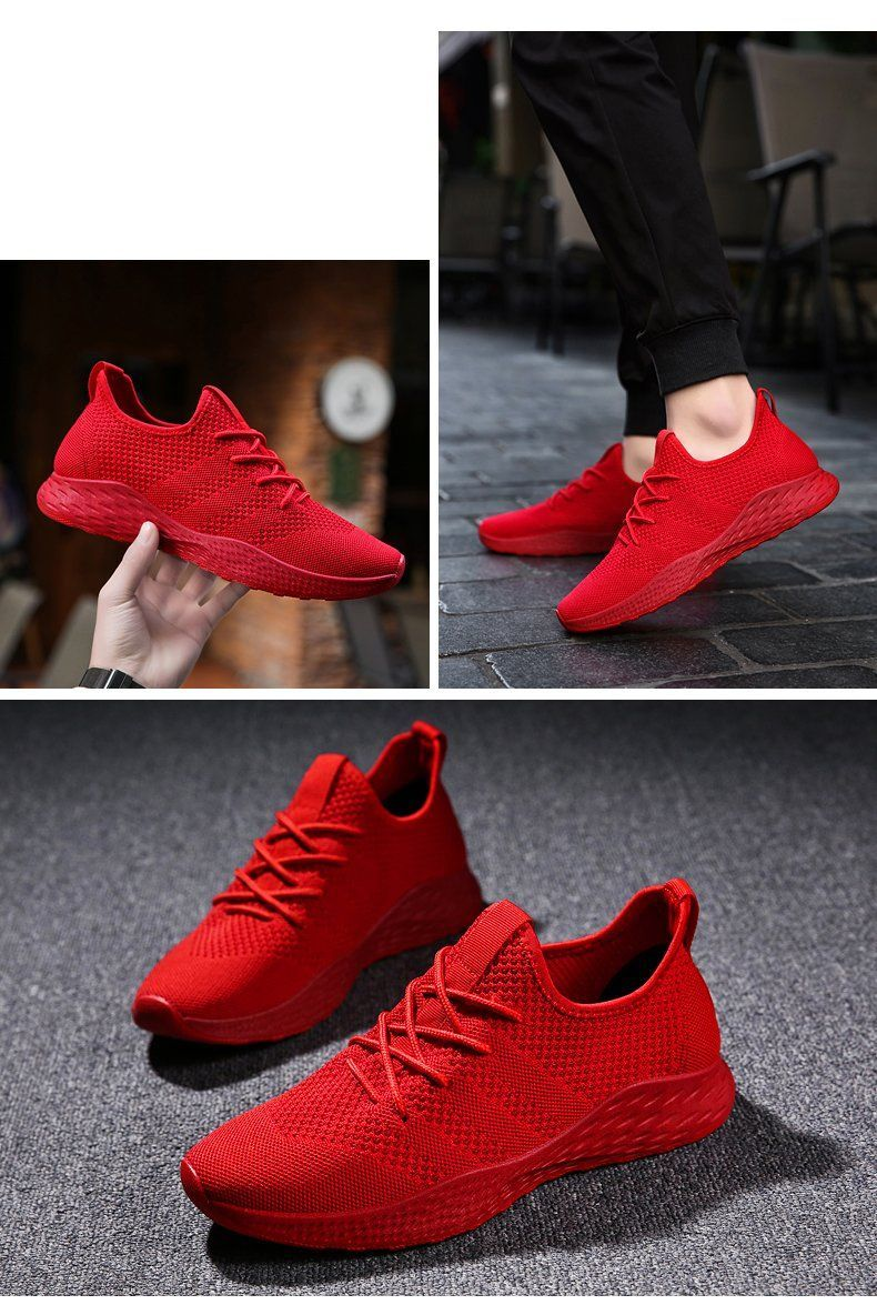 Summer Men Running Shoes Outdoor Jogging Training Shoes ...