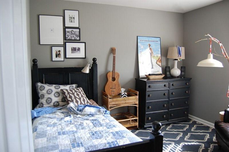 Klassische Jugendzimmer Möbel Mit Moderner Wandfarbe