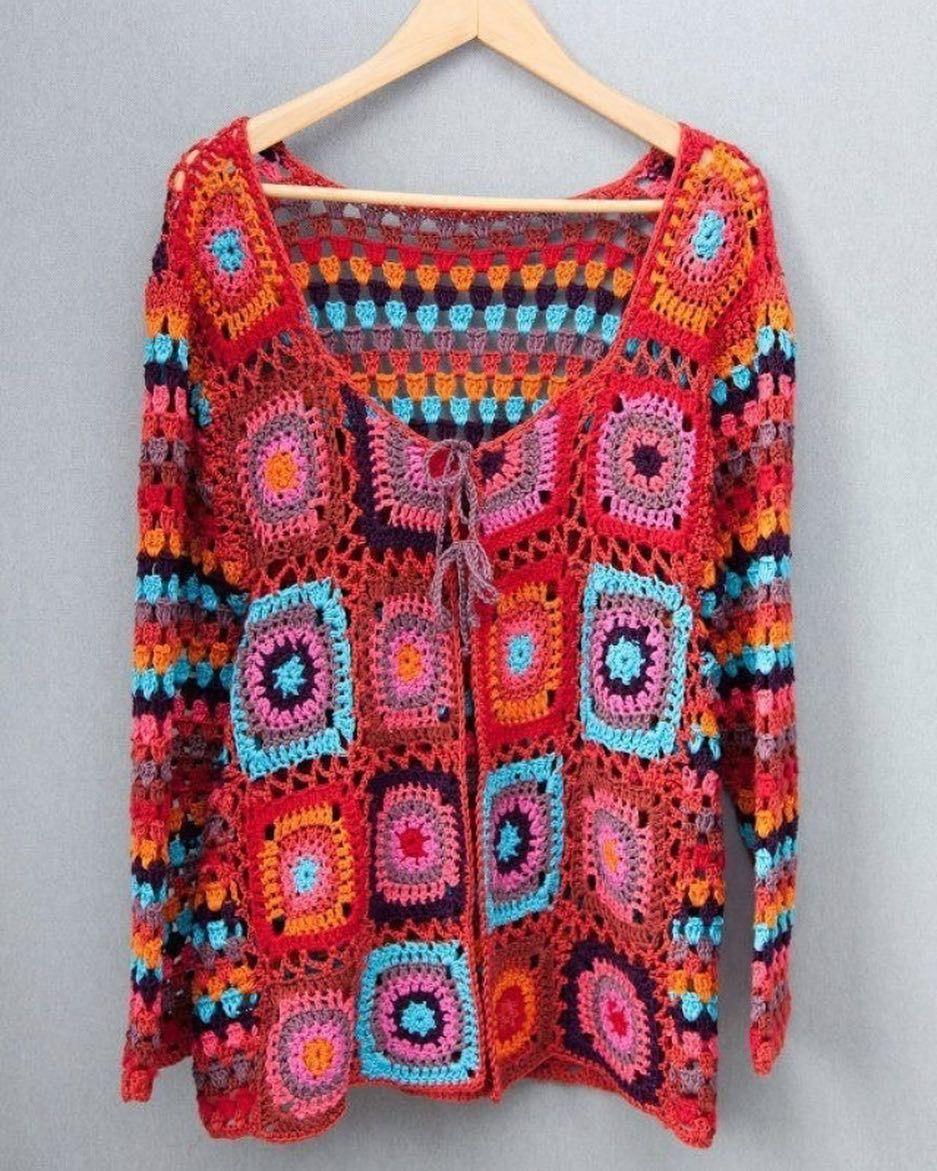 Guzel Insanlara Sevgiyle Siparis Dm Kargo Aliciya Aittir Hirka Motif Crochet Coat Crochet Fashion Crochet Clothing And Accessories