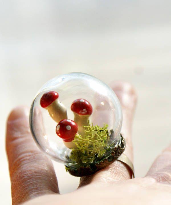 Starry DIY Snow Globe Ring  Homemade Christmas Gift Idea Nick