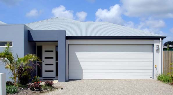 Steel Lineu0027s Slimline Garage Door