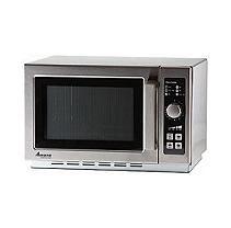 Amana Rcs10ts Commercial Medium Duty Microwave Oven W Push Button