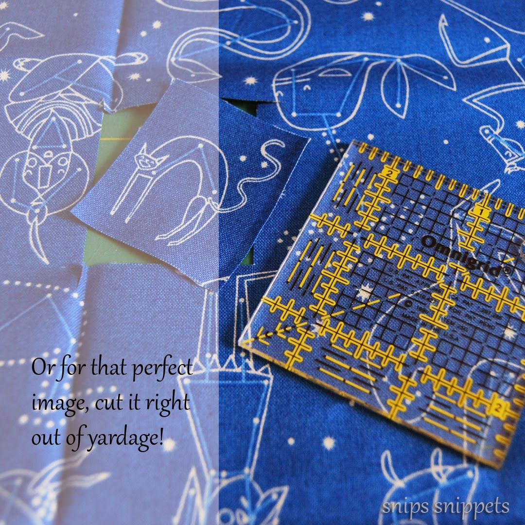 Finish Along Quarter 1 Tutorial Week Fabric Stamps With