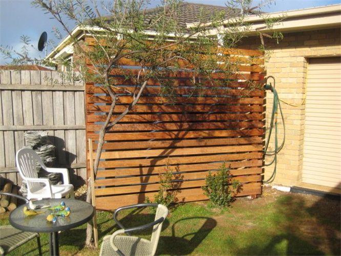 Garden Ideas To Hide A Wall ideas for hiding a water tank | garden designs | pinterest | water