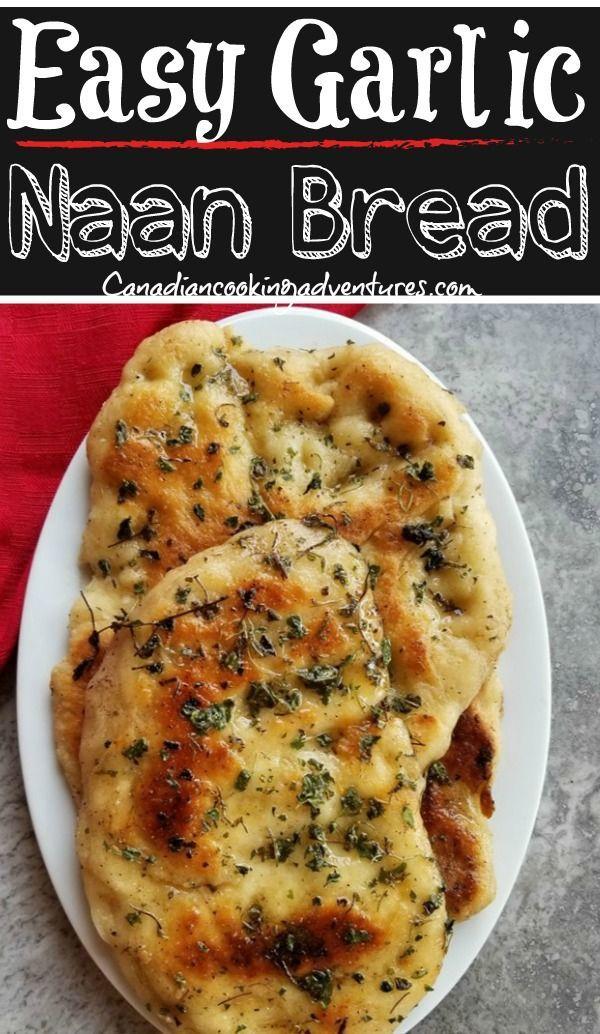 Easy Garlic Naan Bread Recipe This