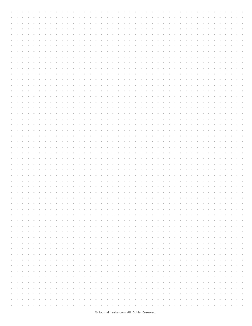 Simple Printable Dot Paper Page Bullet Journal Dot Grid Bullet Journal Paper Grid Paper Printable