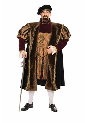 Men/'s Deluxe Tudor Enrico VIII Costume
