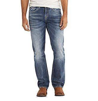 Silver Jeans Co. Men's Grayson Dark Wash Jeans