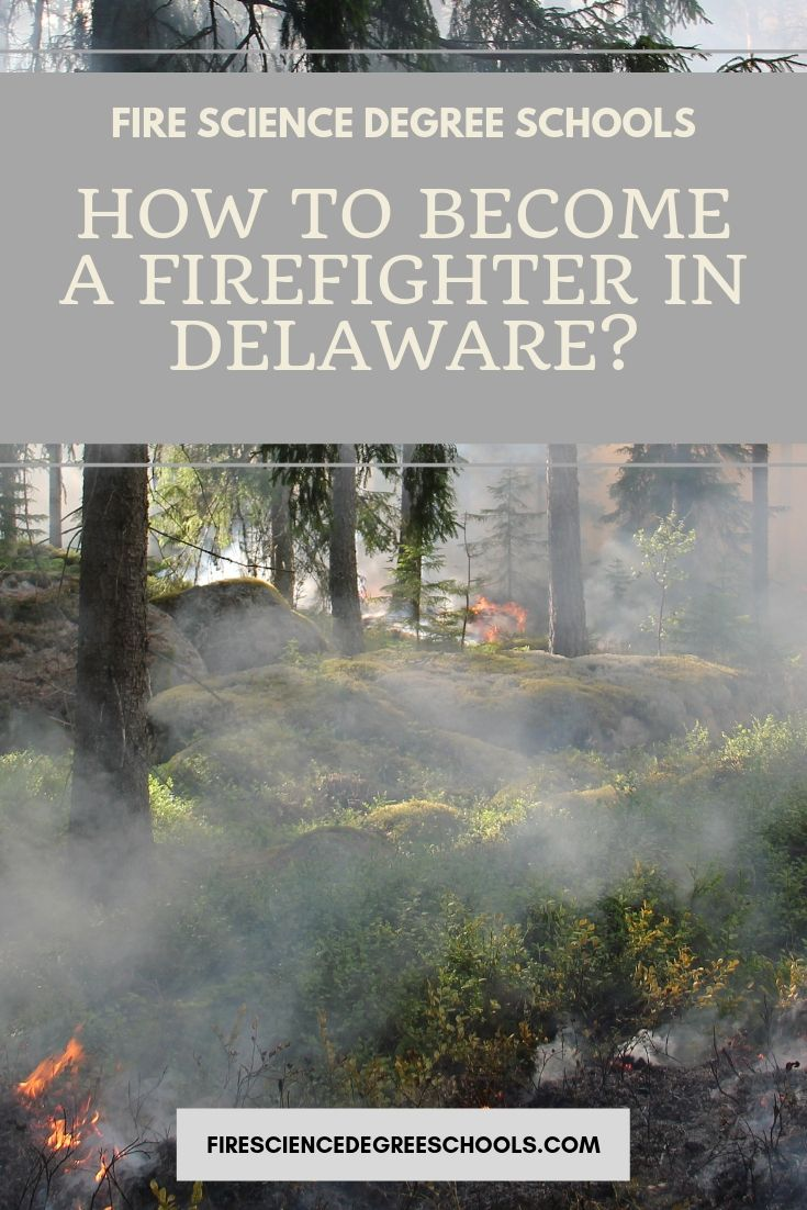 How to a Firefighter in Delaware a