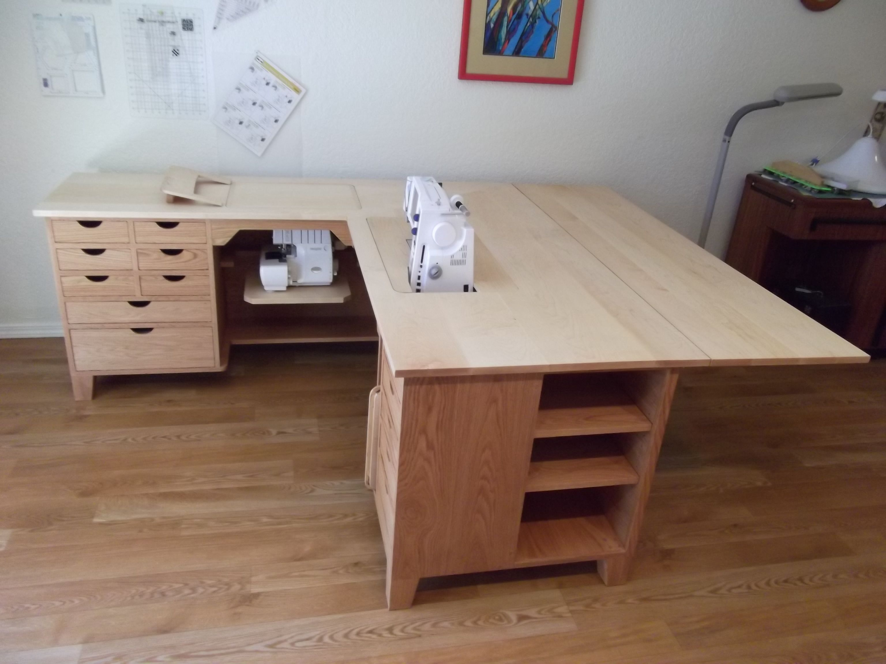 Quilting Sewing Desk With Drop Leaf Google Search Sewing Room
