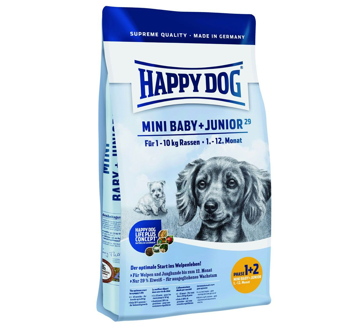 Happy Dog Mini Breed Baby And Junior Dog Food 1 Kg Http Www