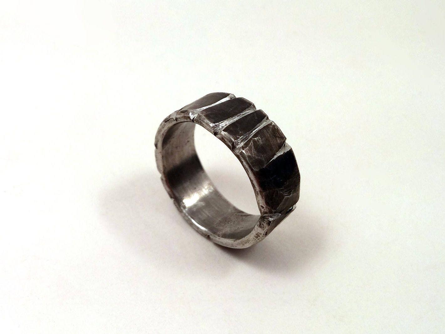 Men S Ancient Oxidized Viking Wedding Ring 8 12mm Etsy Viking Wedding Ring Sterling Silver Wedding Rings Wedding Rings