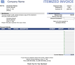 Free Invoice Template Invoice Template Word  Receipt Template