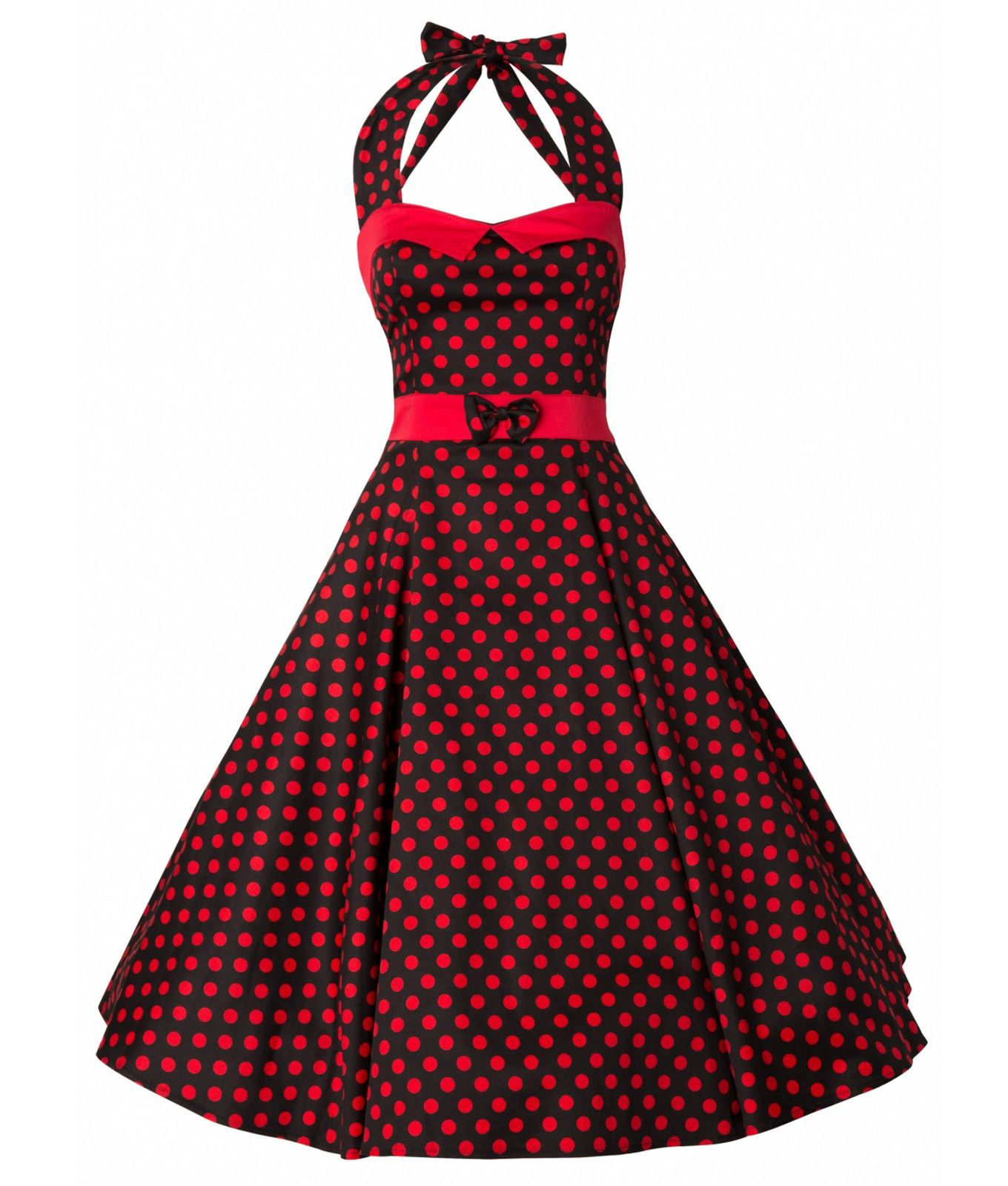 7bf02fff3ed4c7 Collectif Womens 50 s Stella Doll Polka Dot Dress