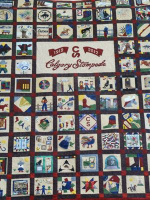 Calgary Stampede Quilt Quilts Decor Home Decor Quilts