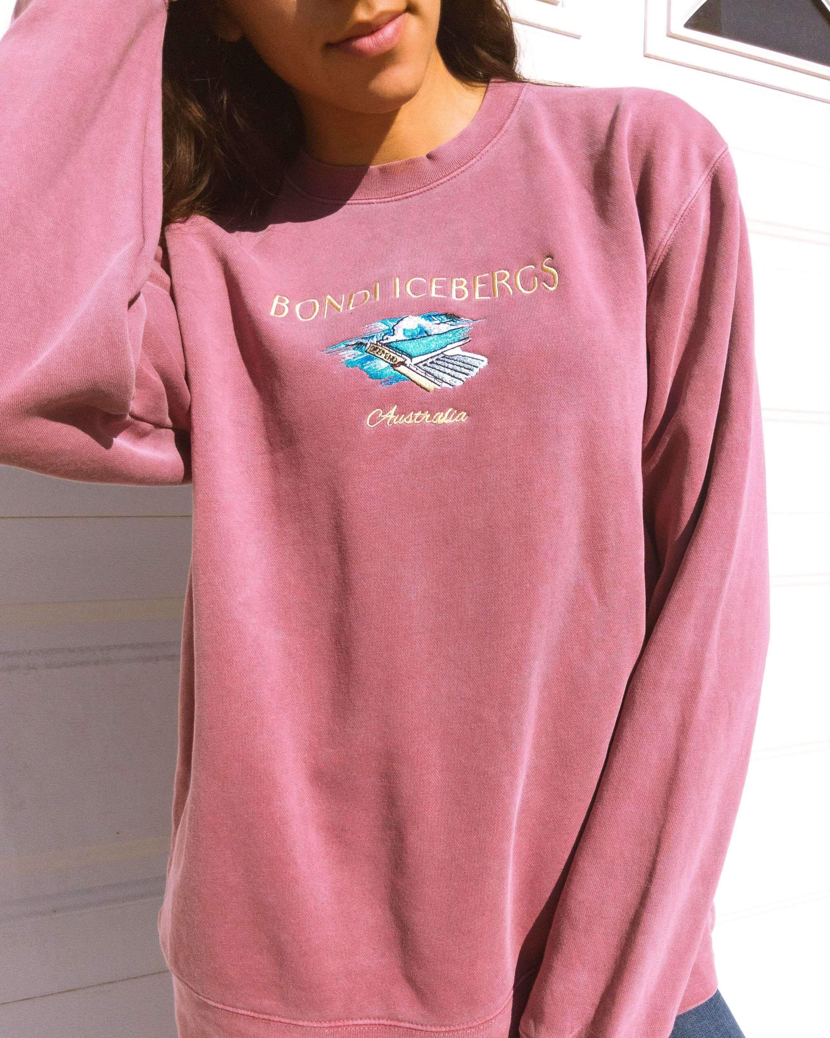 Belmont Shore Olympic Pool Crew Neck Sweatshirt Deep End Crew Neck Sweatshirt Vintage Crewneck Sweatshirt Sweatshirts [ 3313 x 2650 Pixel ]