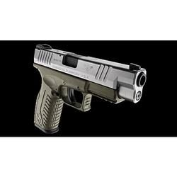 """Springfield Armory XD(M) 9mm 4.5"""" Night Sights OD Green/Stainless"""