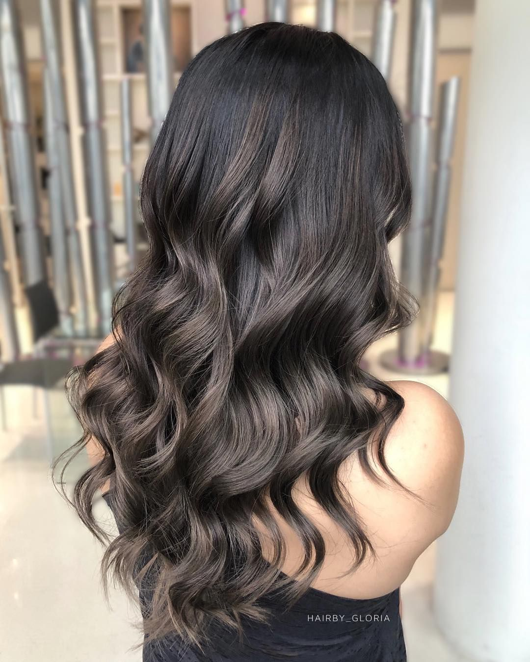 Vancouver Hairstylist On Instagram Fanola Everything Ash Brown Hair Balayage Hair Color For Black Hair Brown Hair Balayage