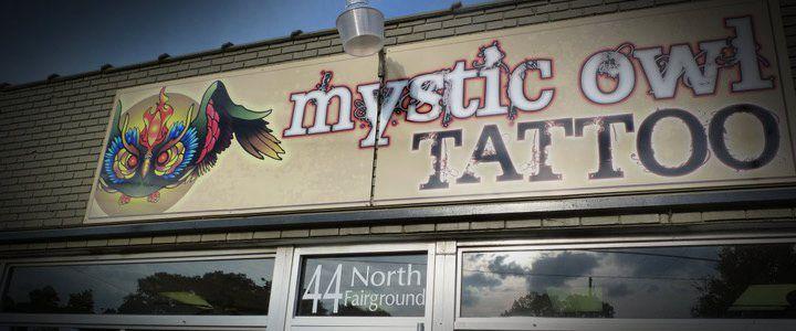 Mystic owl tattoo shopping in atlanta owl tattoo best