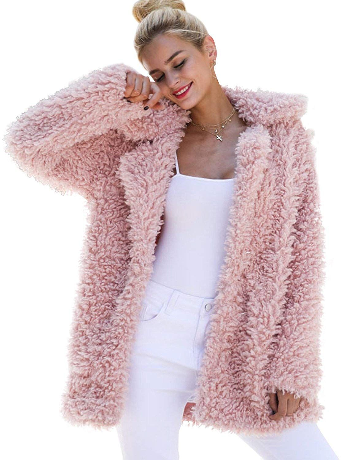 If You Re Looking For A Faux Fur Coat Outfit Then Check Out These Faux Fur Picks From Amazon Amazon C Long Faux Fur Coat Coats For Women Cold Weather Outfits [ 1500 x 1125 Pixel ]