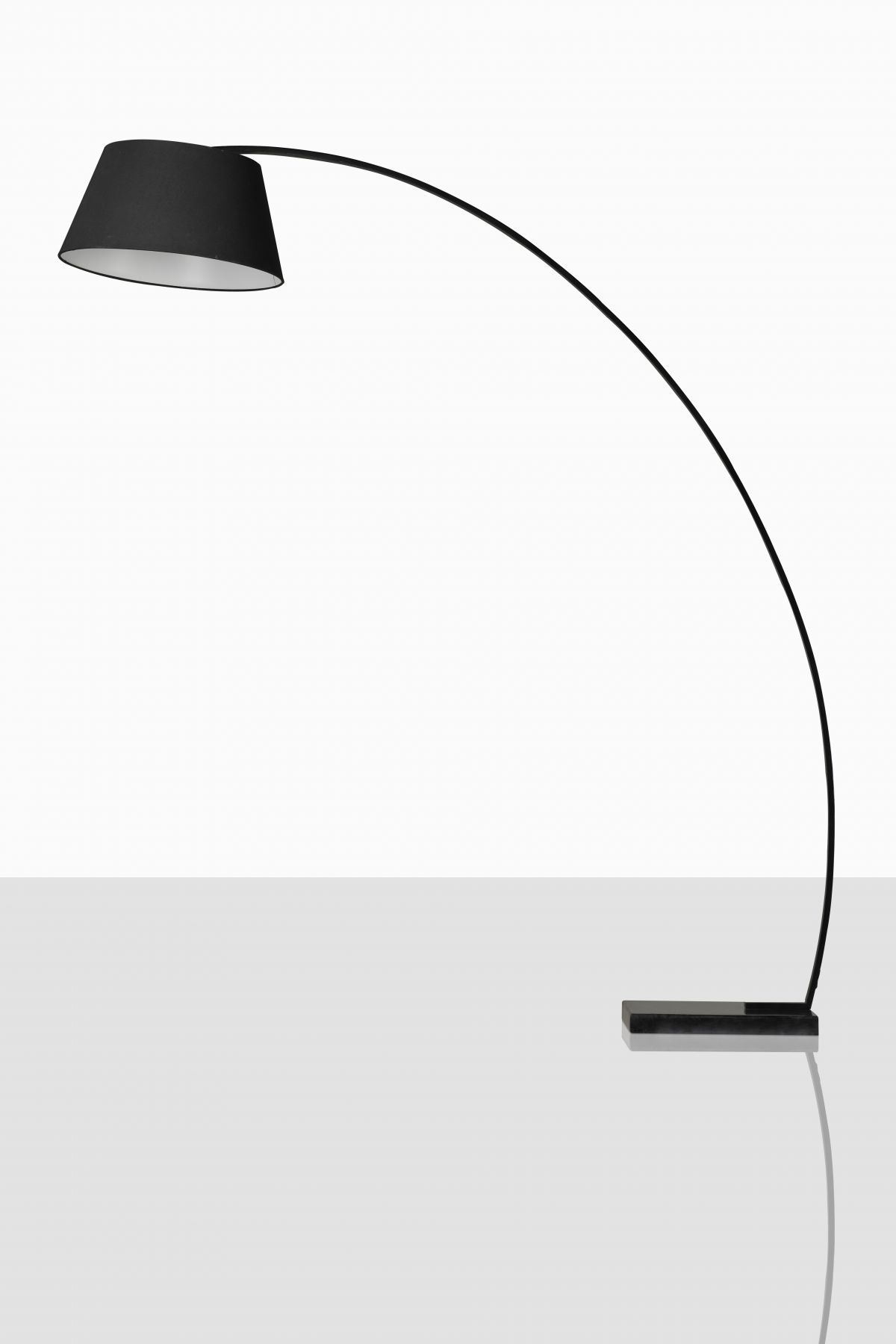 Black Arc Floor Lamp From Rove Concepts Kure Collection | Click Photo For  Details