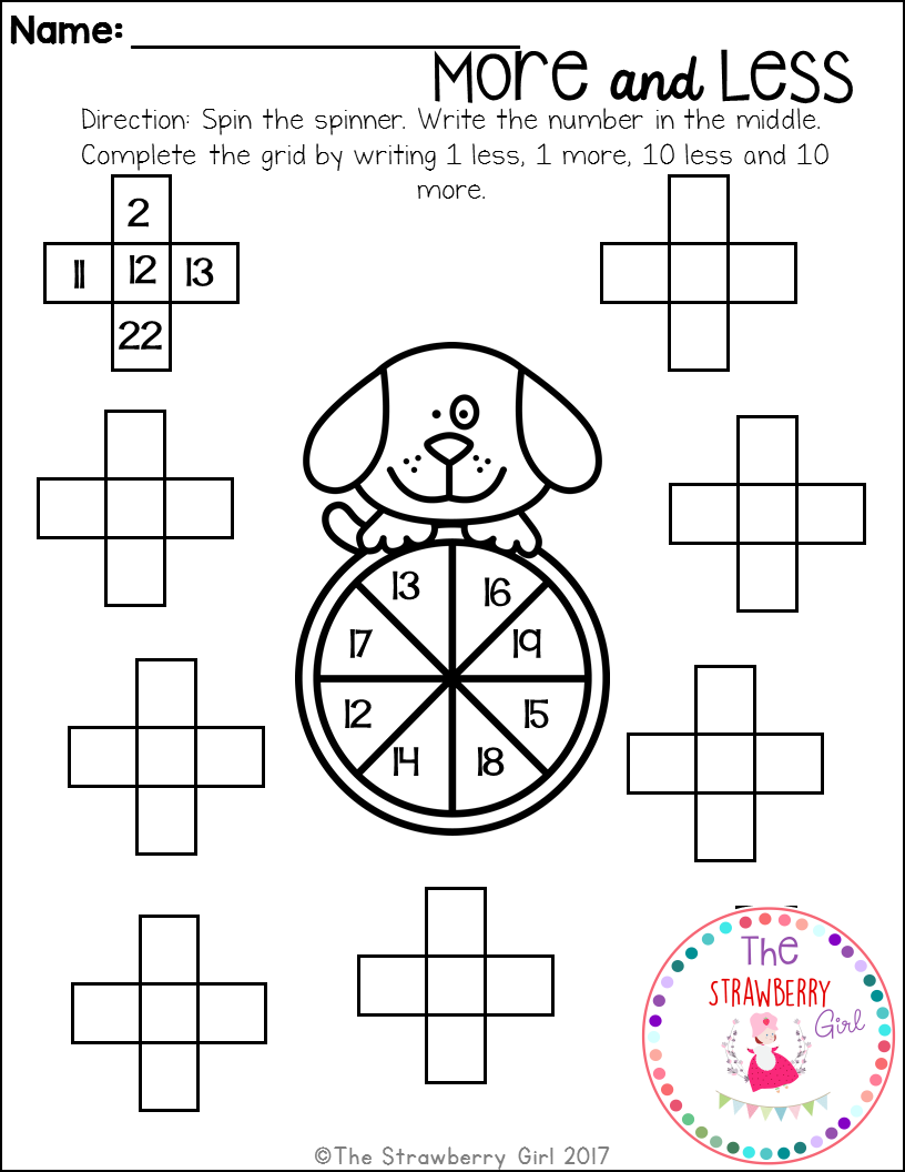 This Packet Is Filled With Fun And Adorable Math Worksheets That Will Engage Your Children With Kindergarten Math Worksheets Math Worksheets Kindergarten Math [ 1056 x 816 Pixel ]