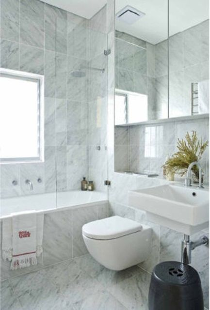 Charmant Marble Bathroom Ideas Can Make Your Bathroom Elegant #bathroomideas  #marblebathroom #bathroomdesign