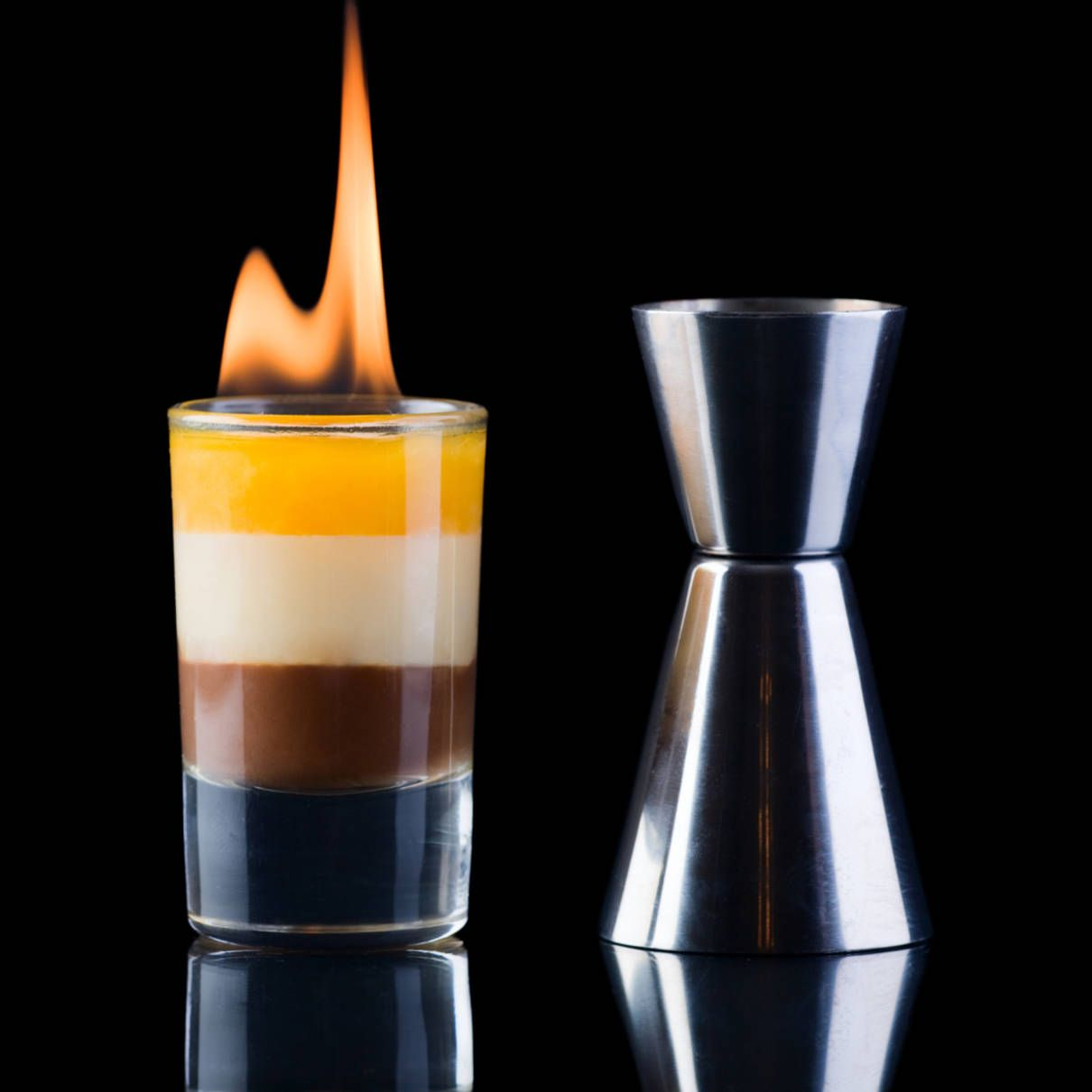 B-52 Drink 1/3 Shot Kahlua® Coffee Liqueur 1/3 Shot