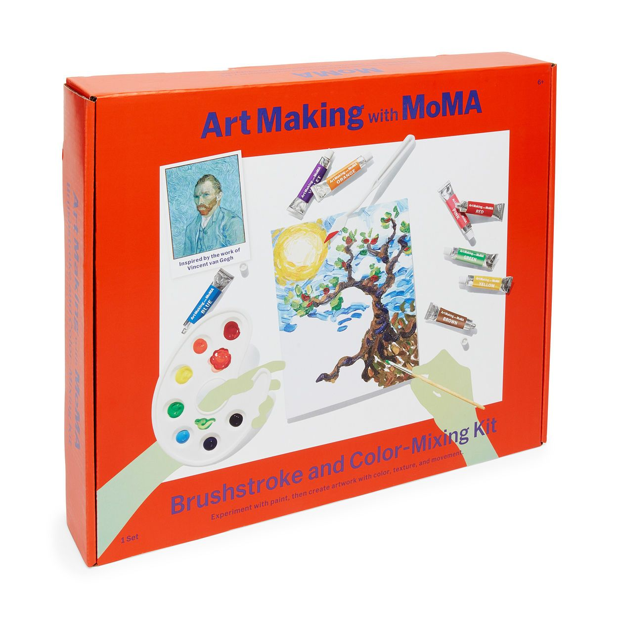 Art Making with MoMA: Brushstroke and Color-Mixing Kit in color