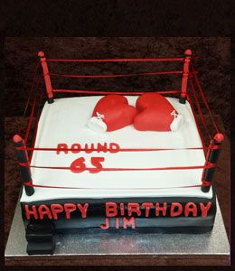 Boxing Birthday Cakes Google Search