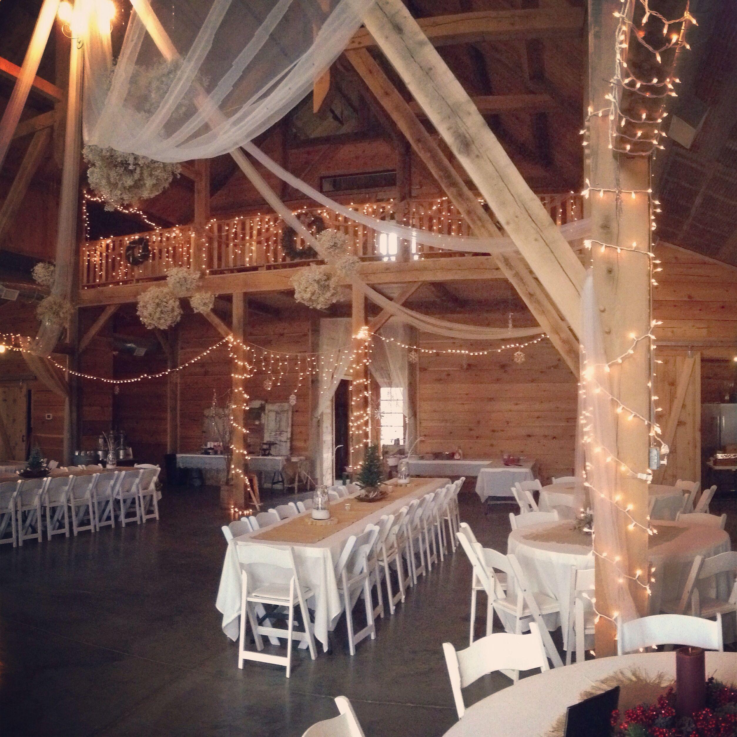 the barn at stone valley plantation barn wedding christmas