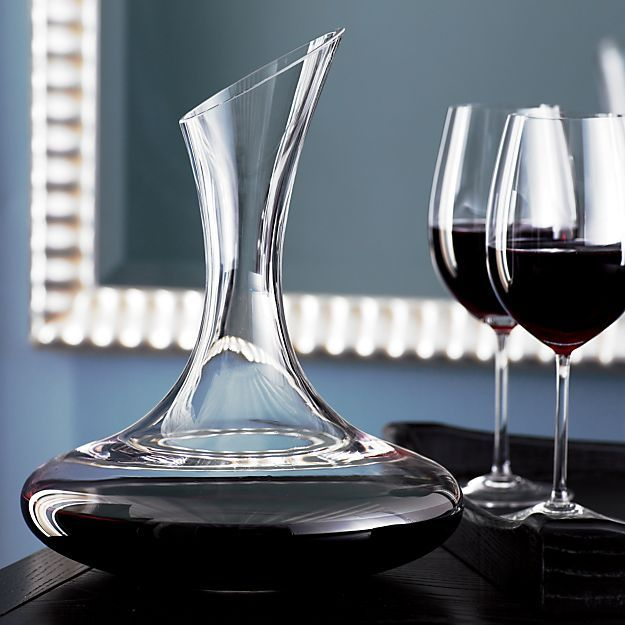 Swoon Carafe in Pitchers & Decanters | Crate and Barrel