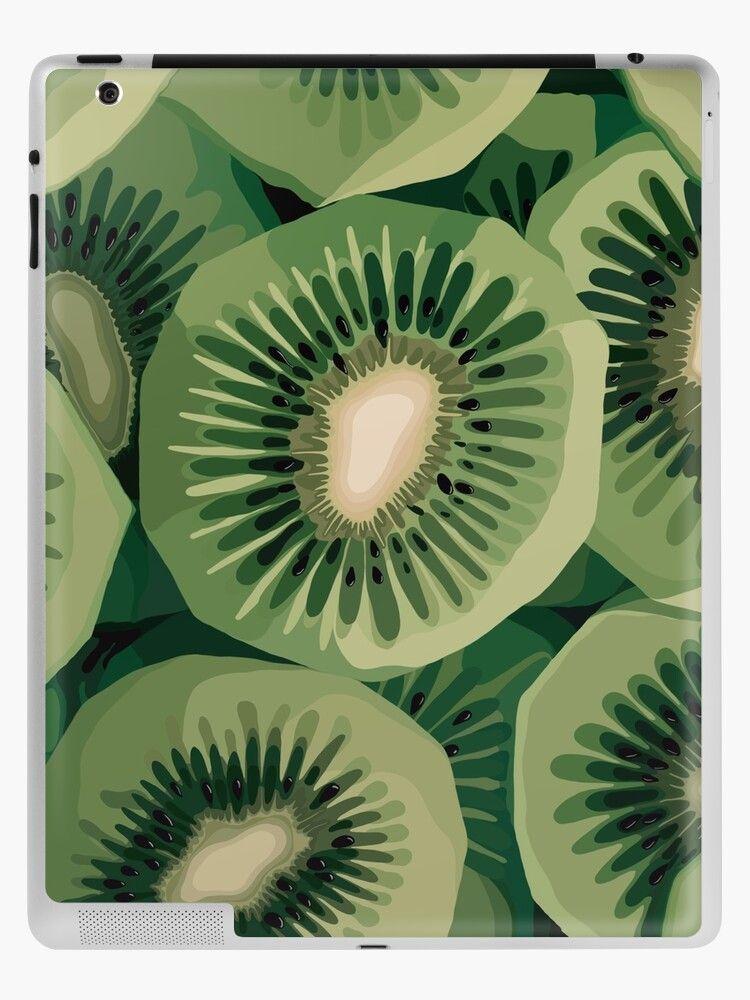 Funda y vinilo para iPad ''Diseño Kiwi Love' de FrootiLiDesigns