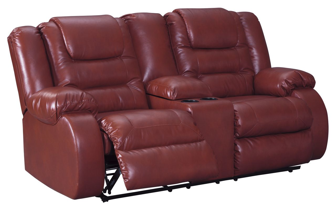 Signature Design By Ashley Salsa Vacherie Collection Reclining Love Seat Savvy Discount Furniture Furniture Davis Furniture Love Seat