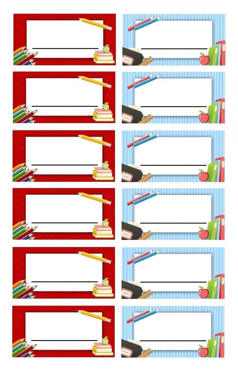 Bien connu Etiquettes vierges à remplir pour l'école | étiquettes | Pinterest  DJ61
