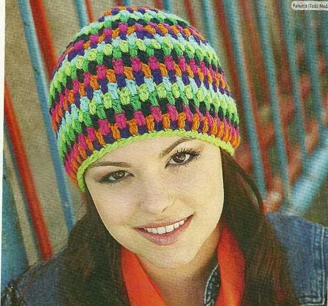 Sombrero a Crochet o Ganchillo | Gorros para Damas niñas y adultas a ...
