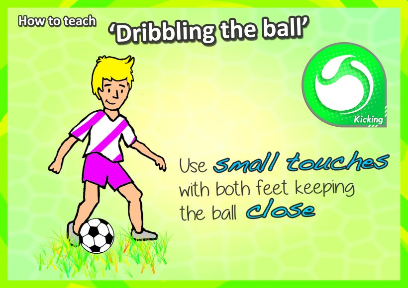 How to teach the 'Kicking' skills Turn your K3's into
