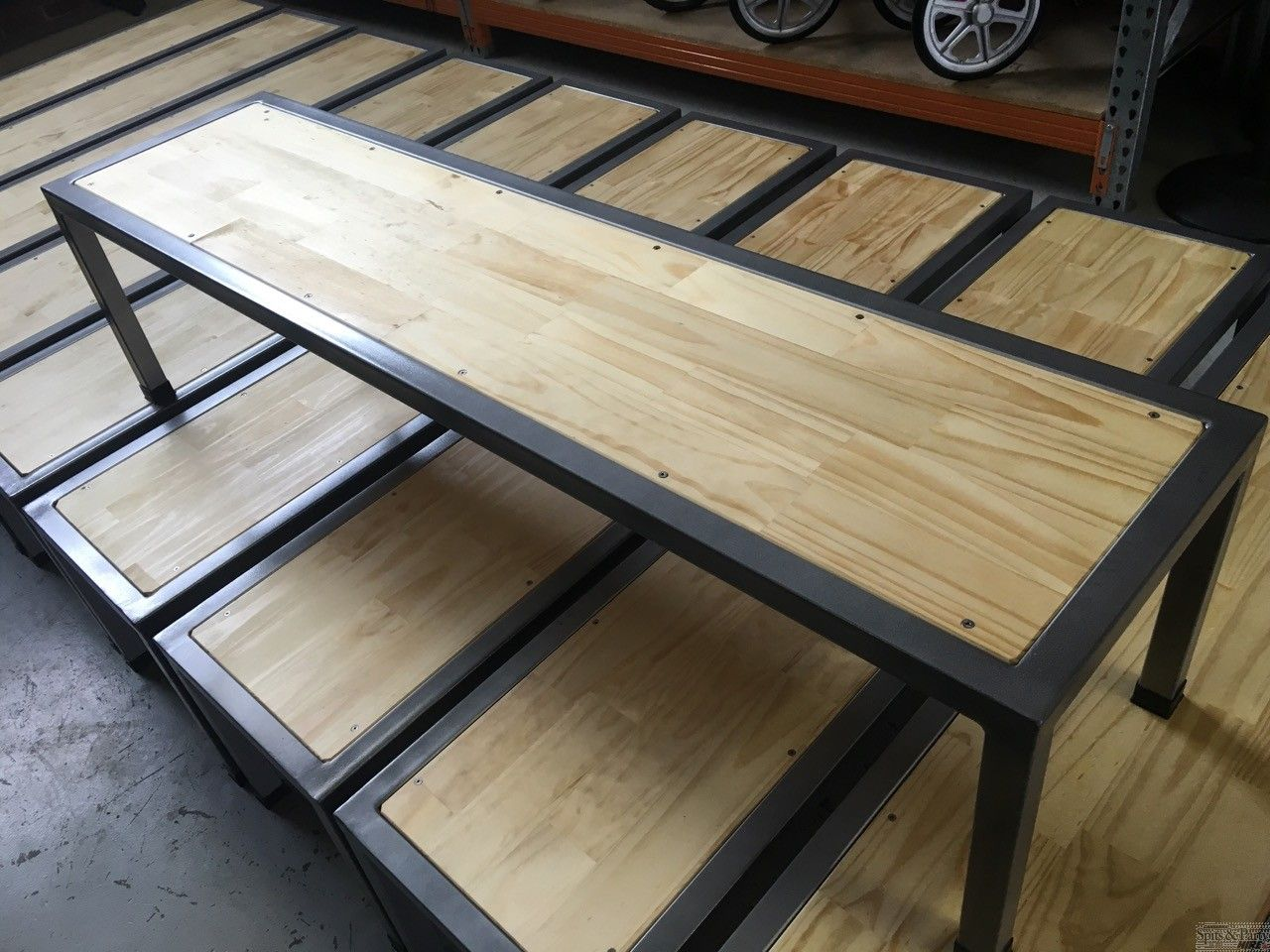 Bench Seat Hire 1800mm Timber Amp Steel Bench Seats Are A