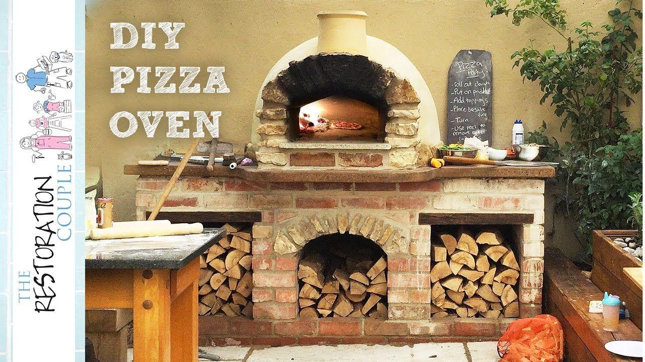 Amazing diy pizza oven complete build youtube diy