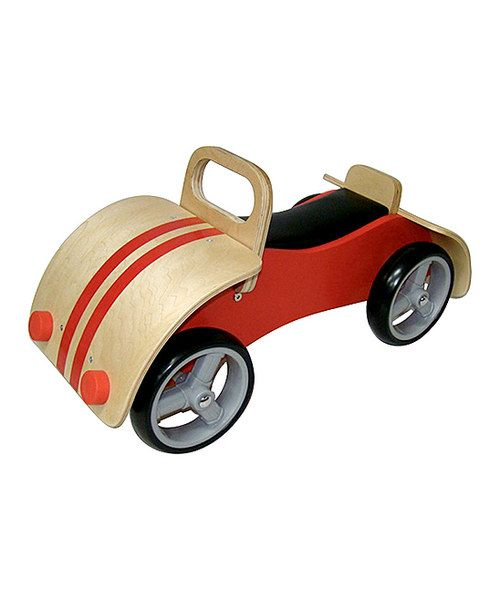 Look At This Red Vintage Car Ride On On Zulily Today Ride On Toys Vintage Cars Car Ride