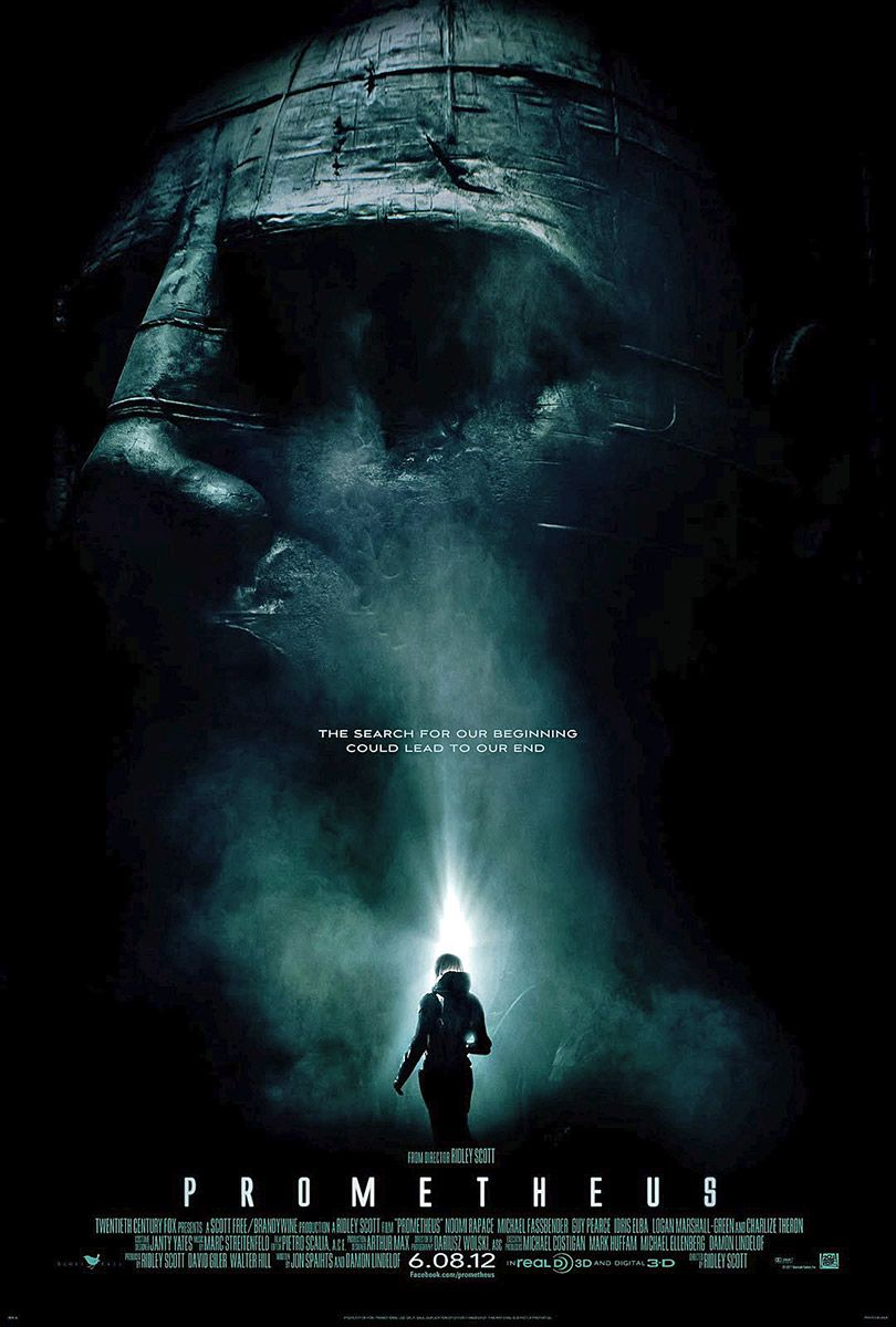 Prometheus 2012 Kept Me On My Toes And Grabbing My Movie