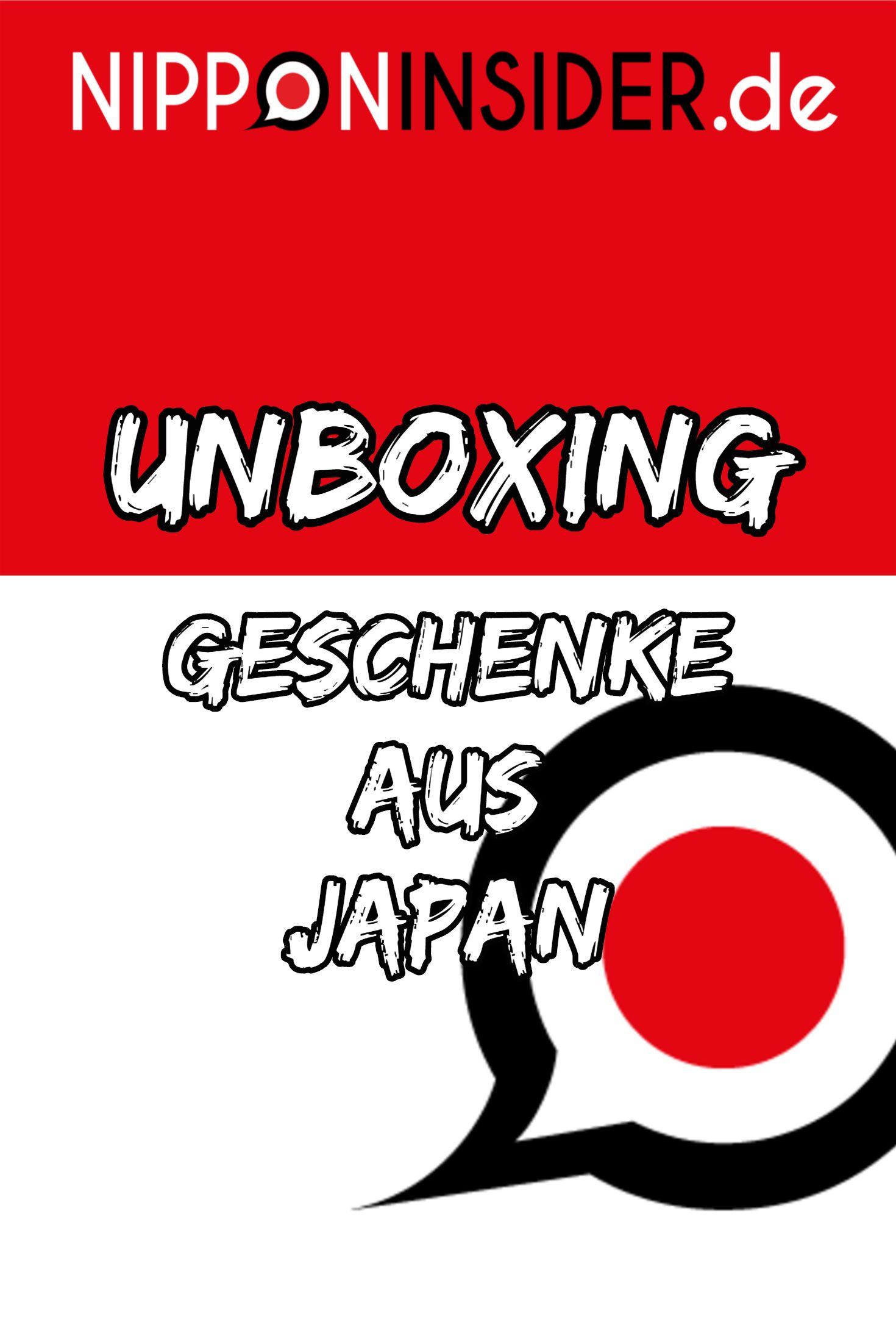 Unboxing Geschenke aus Japan | Geschenkideen für Japanfans ...