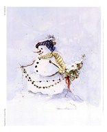 Snowman Two Art  PEGGY ABRAMS