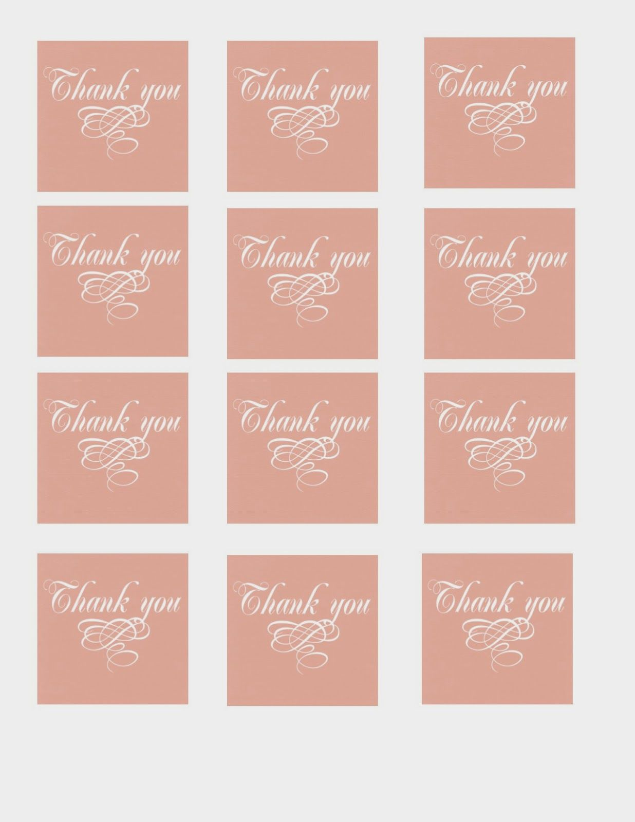 The Glitzy Pear: free printable thank you tags | printables ...