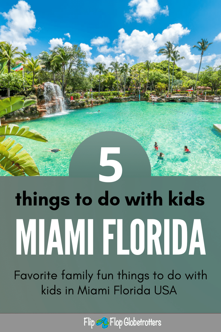 5 Fun Things To Do In Miami With Kids Flipflopglobetrotters Com Miami Vacation Kids Vacation Fun Things To Do