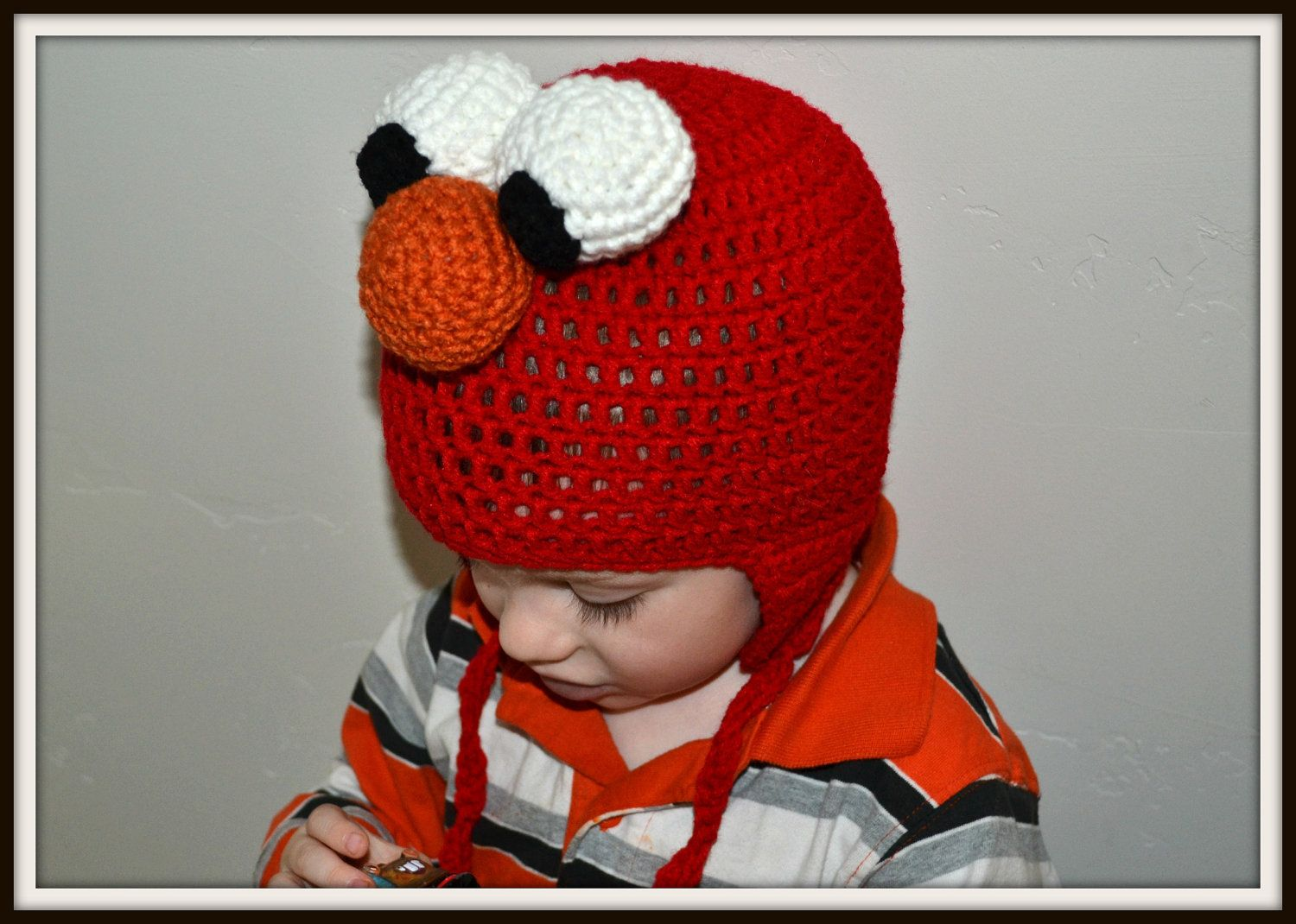 Free crochet character hat patterns elmo crochet hat crochet free crochet character hat patterns elmo crochet hat bankloansurffo Gallery
