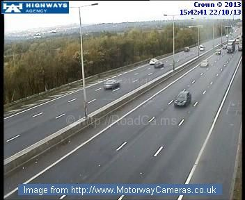M5 Traffic Cameras Live >> Live Cctv Traffic Image From M5 Southbound J3 Quinton Pinned
